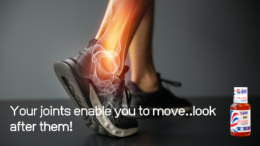 Keep active and look after your joints.